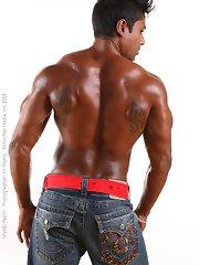 Muscle men Kash Fernando