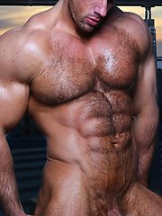 hairy men Zeb Atlas Manifest Roof Sunset