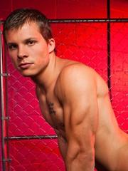 Sexy hunk Chad Logan