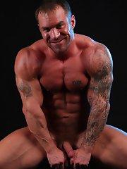 Caesar Hairy Gay Muscle