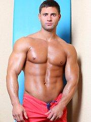 Hard, wet surfing muscle...Mike Buffalari