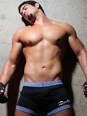 Angelo Antonio Young Muscle guy