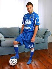 Carmello Rossi Gets A Boner For Soccer