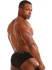 Rico Black Underwear