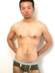 Japanese jock in undies