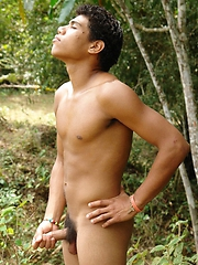 Romero Santiago is shy. This is his first time in front of the ...