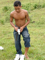 Mateo is a hot guy. Toned and fashion conscious he's eager to ...