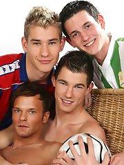 Sportladz: Footie kits and group sex!!